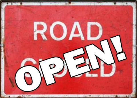 Hylton Road reopened ahead of schedule