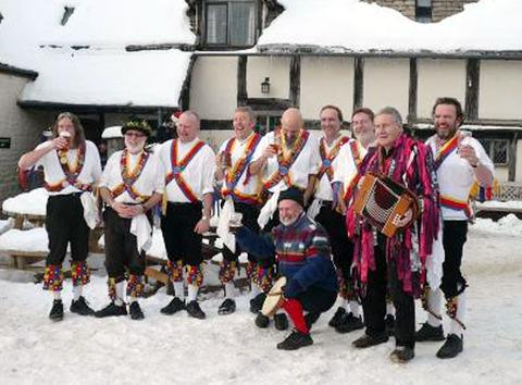 IN GOOD CHEER: The Pebworth Morris Men will perform.