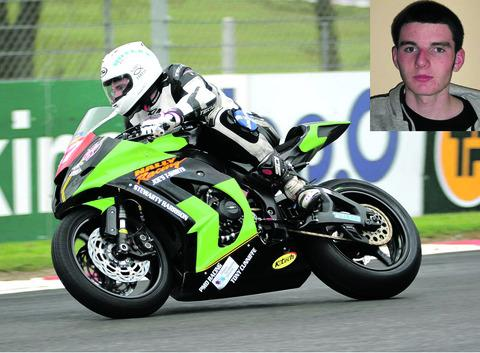 NEW RECRUIT: Evesham's Team JD Racing have snapped up young Irish prospect Cody Nally for their 2013 British Superstock 1000 Championship campaign. Picture supplied by Alan Heal.