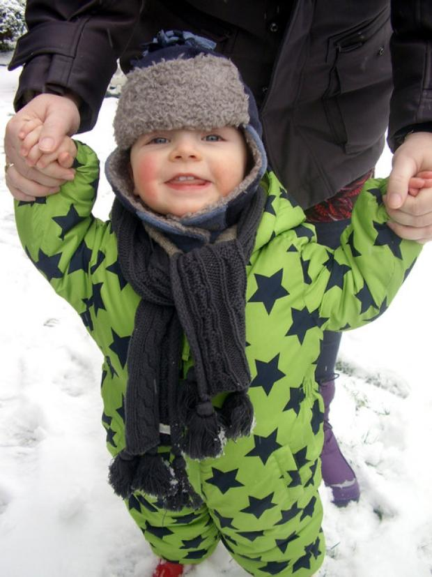 Evesham Journal: Snow brings chaos but also lots of family fun