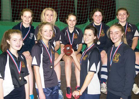 WORCESTERSHIRE CHAMPIONS: Prince Henry's High School girls' under 15s. Picture: NAOMI HEYWOOD