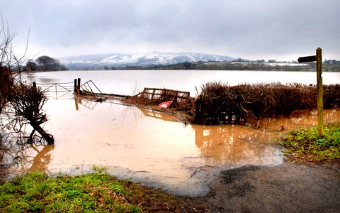 UNDER WATER: Eckington was one of the areas to be hit by the latest flooding. Picture by Paul Jackson. 0713242908