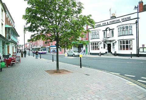 DISRUPTION: Roadworks in Pershore High Street are expected to last six weeks.