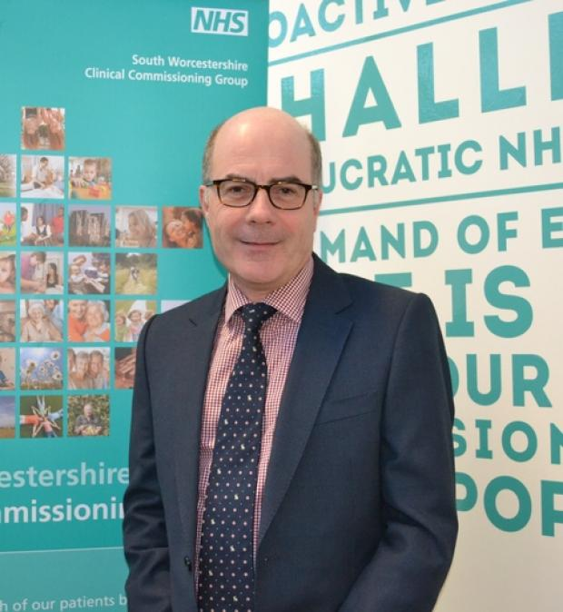 Dr Carl Ellson, chief clinical officer for South Worcestershire CCG.