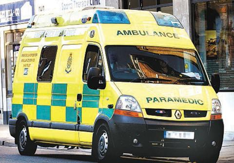 Ambulance crews deal with four calls every minute as 2014 arrives