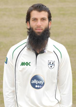 MOEEN ALI: Looking forward to the first Test today.