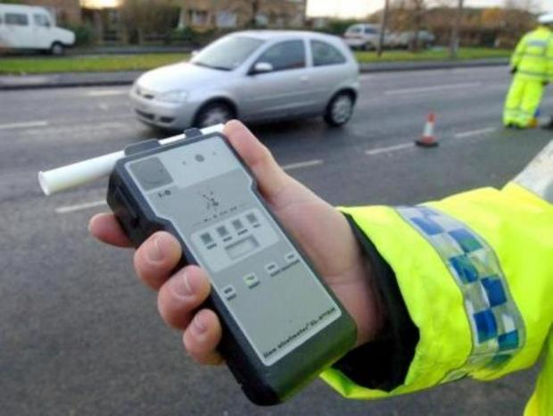 Evesham Journal: Fall in drink-drivers caught during festive clampdown