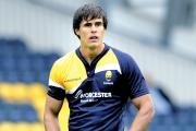 Fly-half Ignacio Mieres kicked 17 points for Worcester Cavaliers in the win against Newcastle.