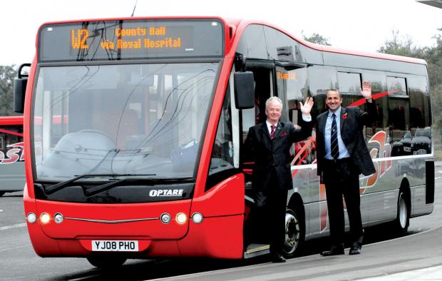 Evesham Journal: The park and ride at Sixways, which is closing in September