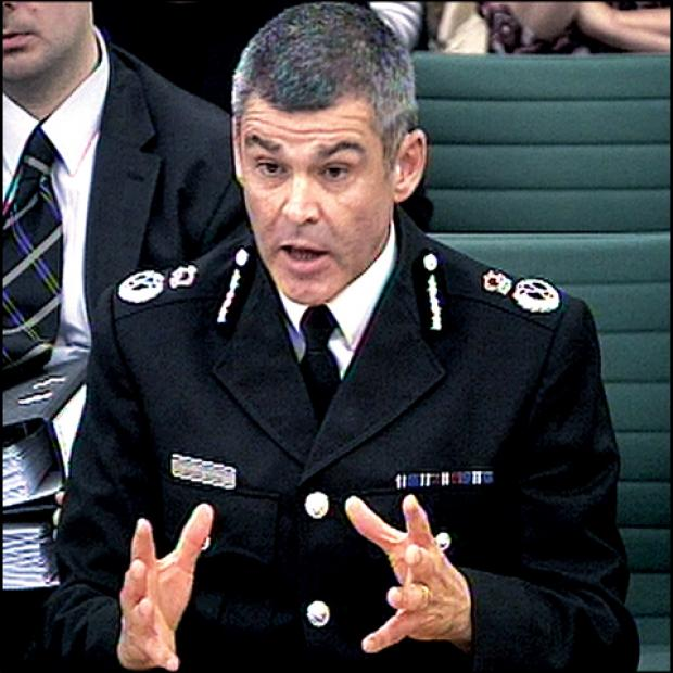 Evesham Journal: West Mercia Police Chief Constable David Shaw