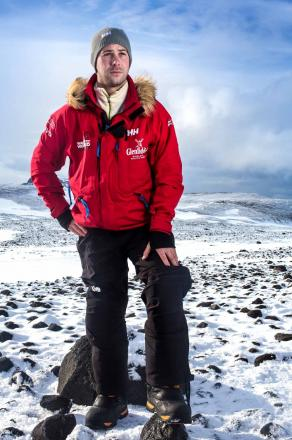 Veteran's South Pole challenge