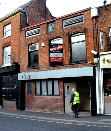 The former DNA club in Lowesmoor, Worcester, will become Black Cherry