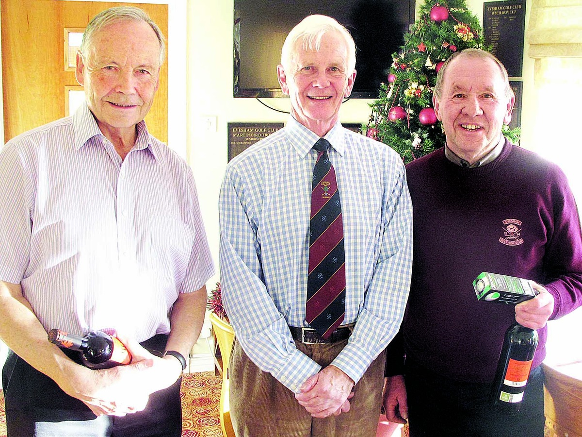Festive joy for Curtis and Rogers at Evesham Seniors