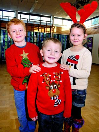 Festive jumpers help raise funds