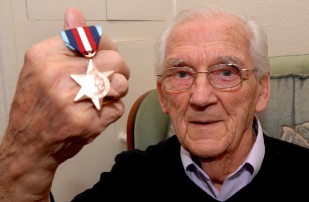 SERVICE: Jim Prince has been given the Arctic Star Medal. Picture by Paul Jackson. 5113480201