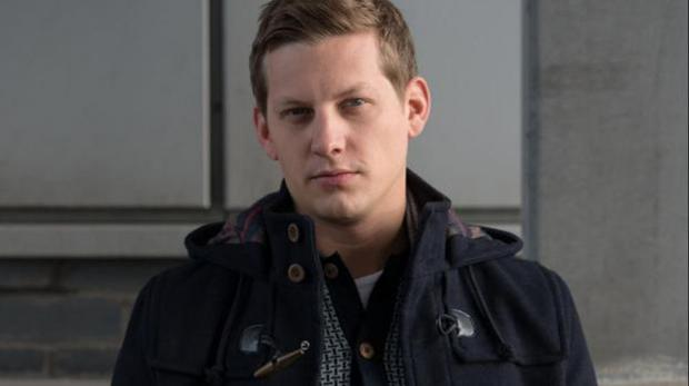 Actor James Sutton's character in Hollyoaks was raped.
