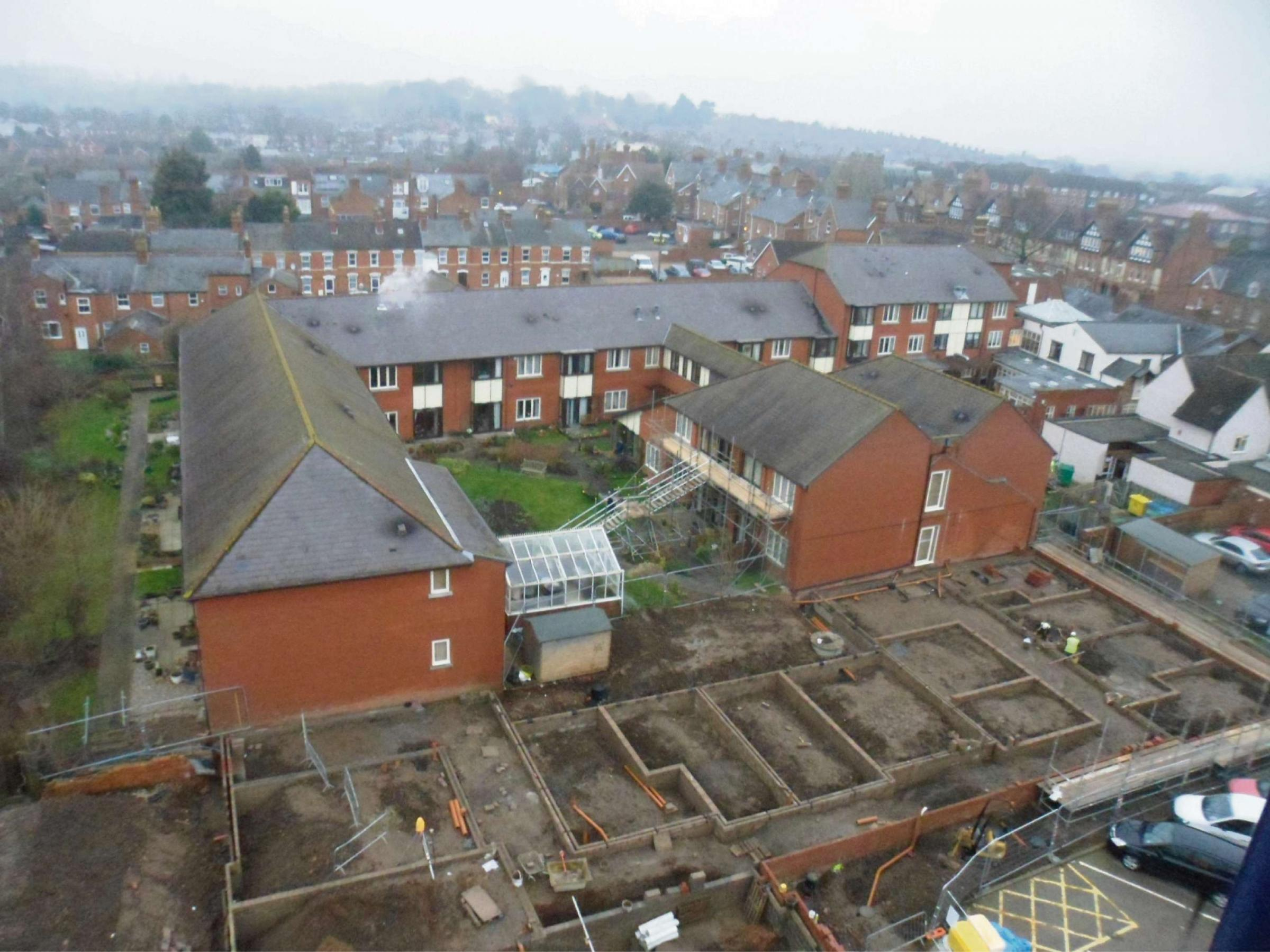 New development at Yate's Court in Evesham
