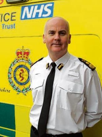 Anthony Marsh, chief executive of West Midlands Ambulance Service