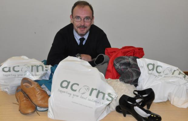 Acorns Children's Hospice head of retail Kevin Ives