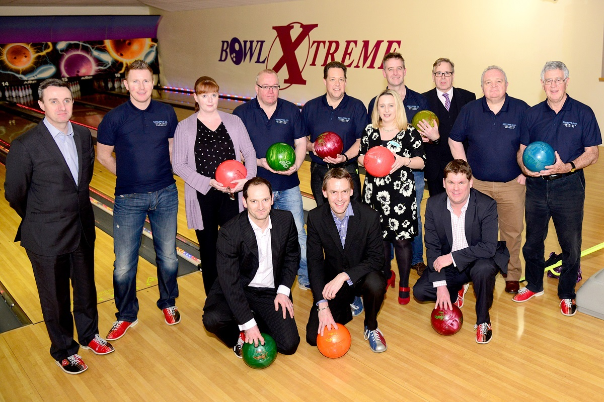 Bowlers at the fundraising event at Bowl Xtreme in Droitwich Road