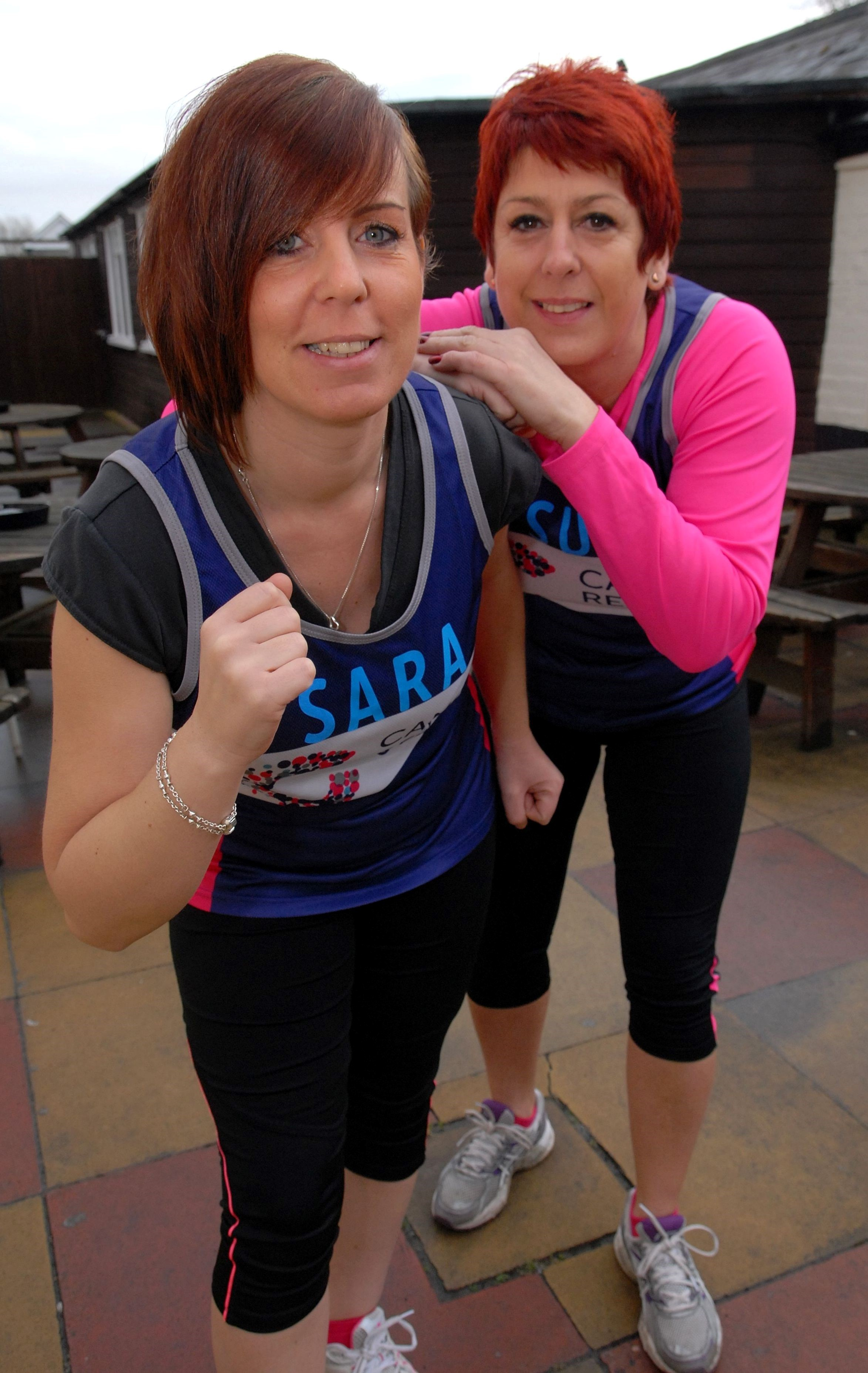Friends set to take on half marathon