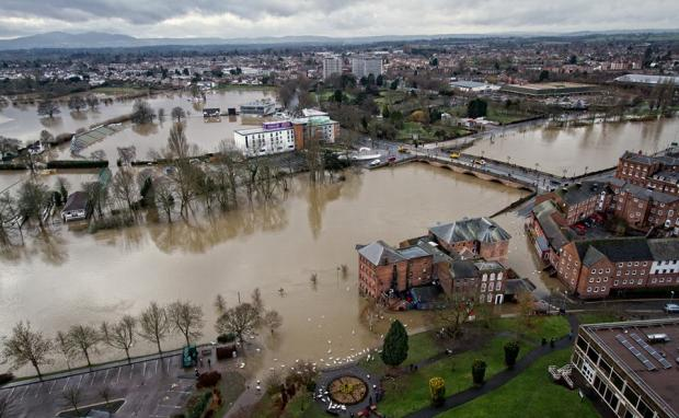 The flooding that brought chaos to Worcestershire