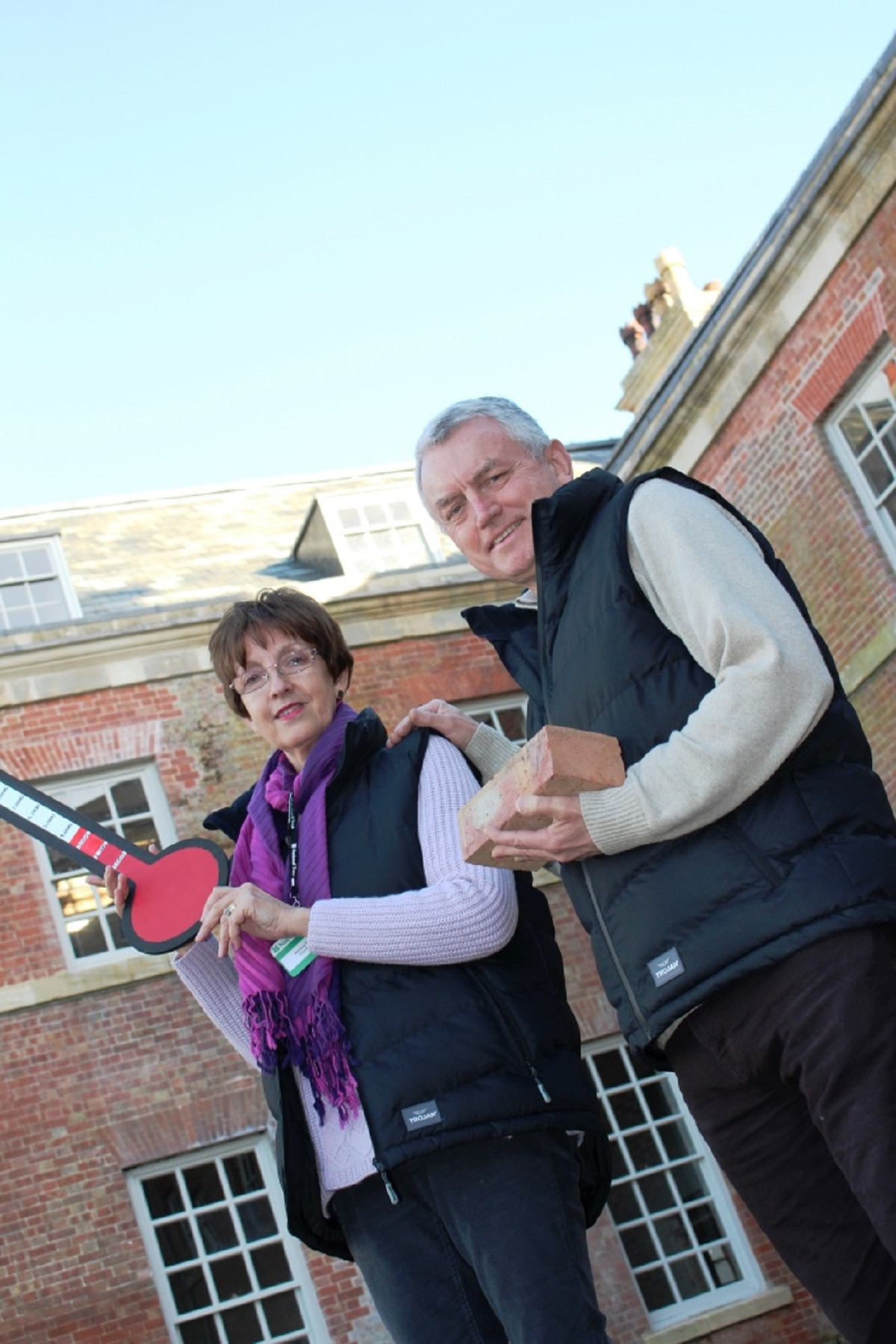 MORE than £3,500 has been raised in an appeal towards the restoration of a wing of a historic building near Pershore.  Visitors to the National Trust's Croome Court put their hands in their pockets to raised the massive sum in a buy-a-brick scheme toward