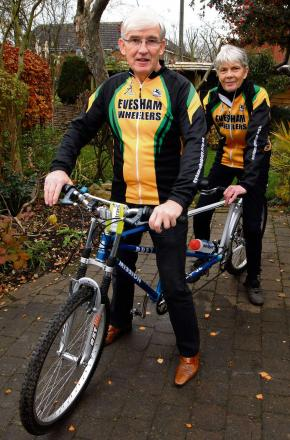 Steve and Nina Bullen who are part of Honeybourne Bicycle Users Group. (4913466401)