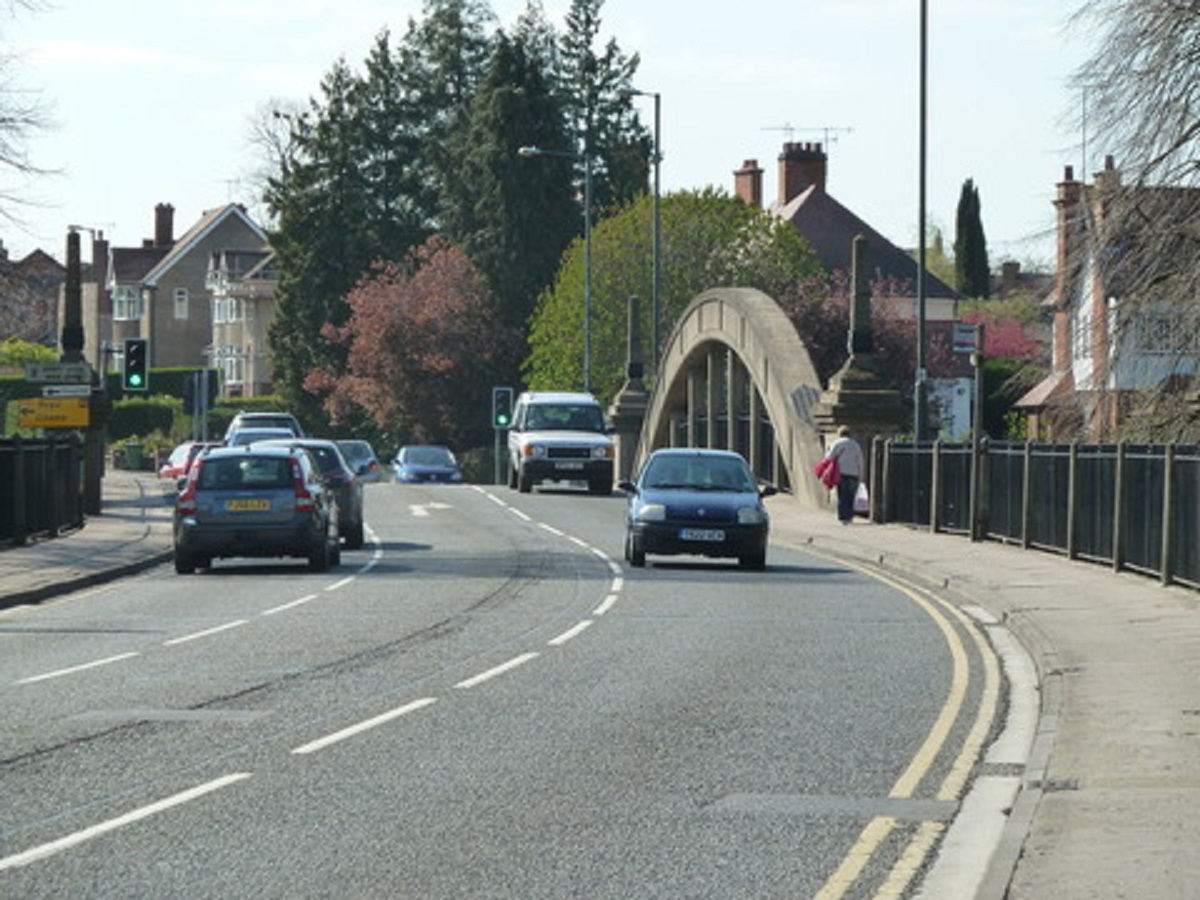 Abbey Bridge road to re-open at 3pm on Monday.