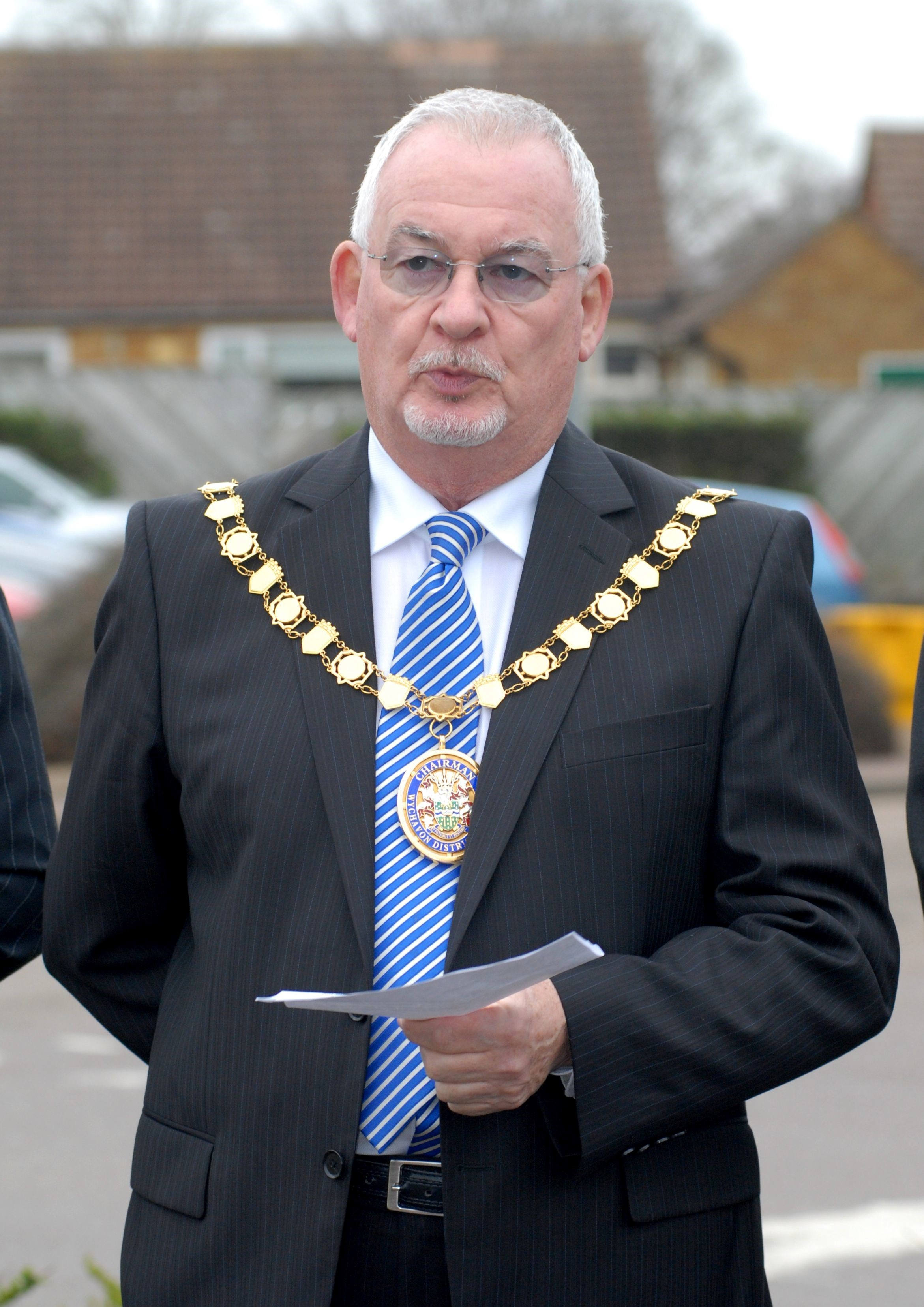 Wychavon District Councillor Gerry O'Donnell