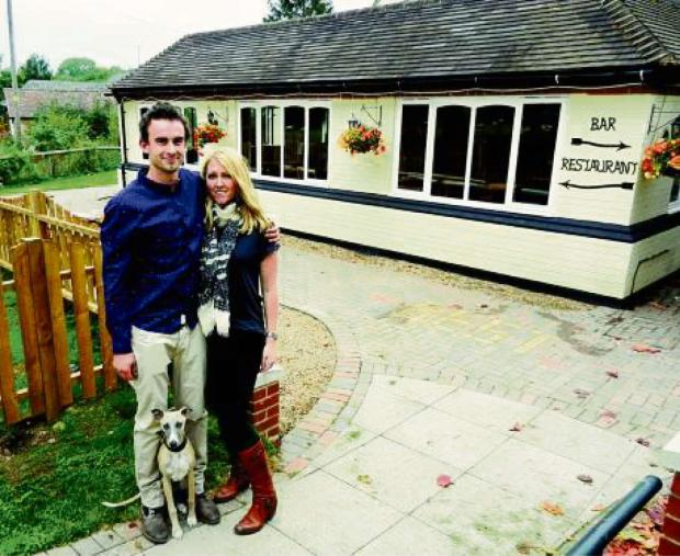 Gemma Fernihough and Murray Spencer who are looking forward to their charity challenge in Ethiopia.