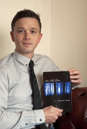 James Nash, Evesham author's first novel is great success.