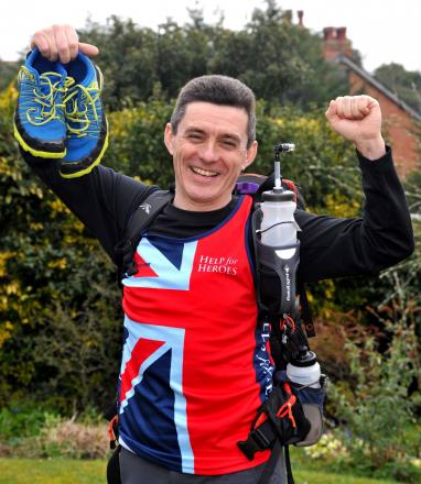 Bill Adsett from Malvern will be running 156 miles over the Sahara Desert for the forces charity, Help for Heroes.