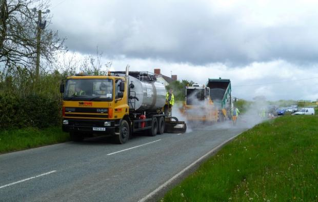 ROADWORKS: Surface dressing will begin on Malvern's roads this week