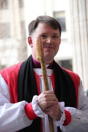 New Bishop of Dudley the Rt Revd Graham Usher