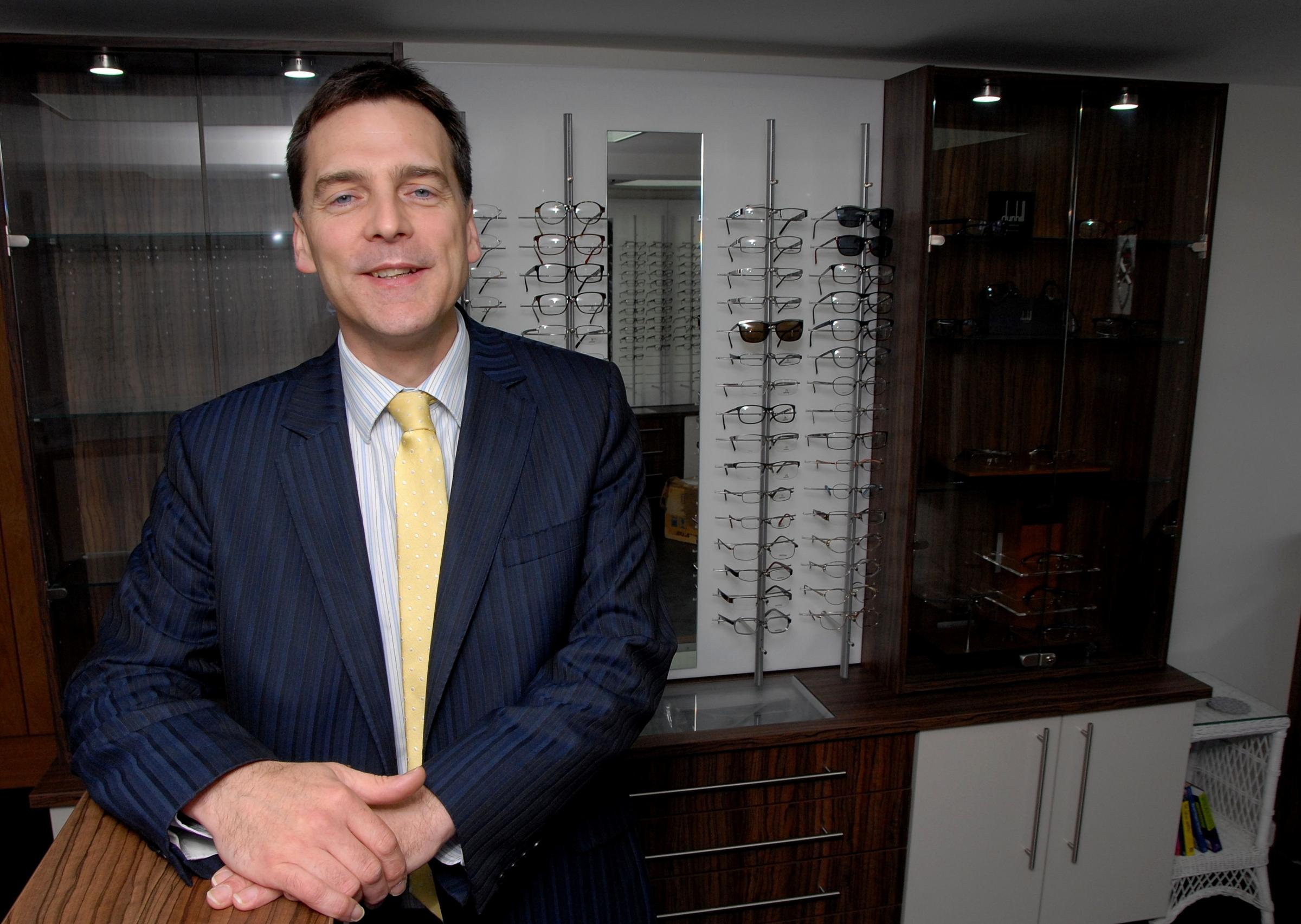 Optician inspired to open new business by patients