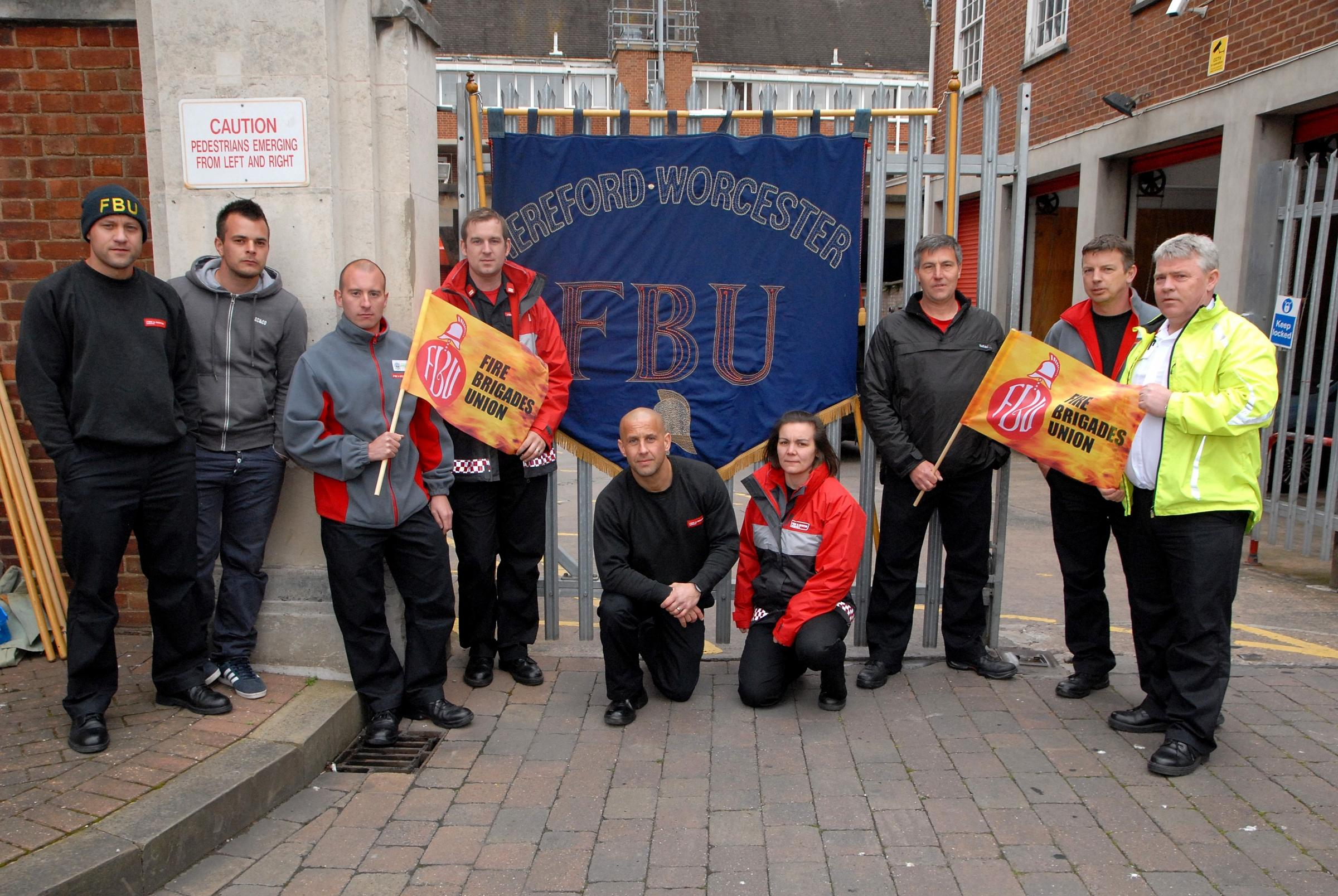 Strike a success, says fire brigade union
