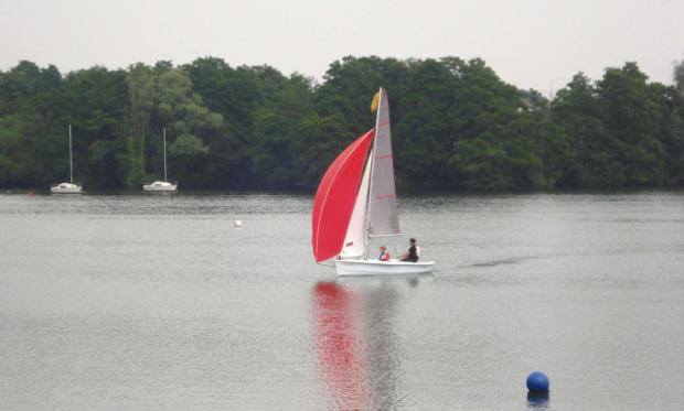 Have a go at Windsailing. Picture credit: Upton Warren SC.