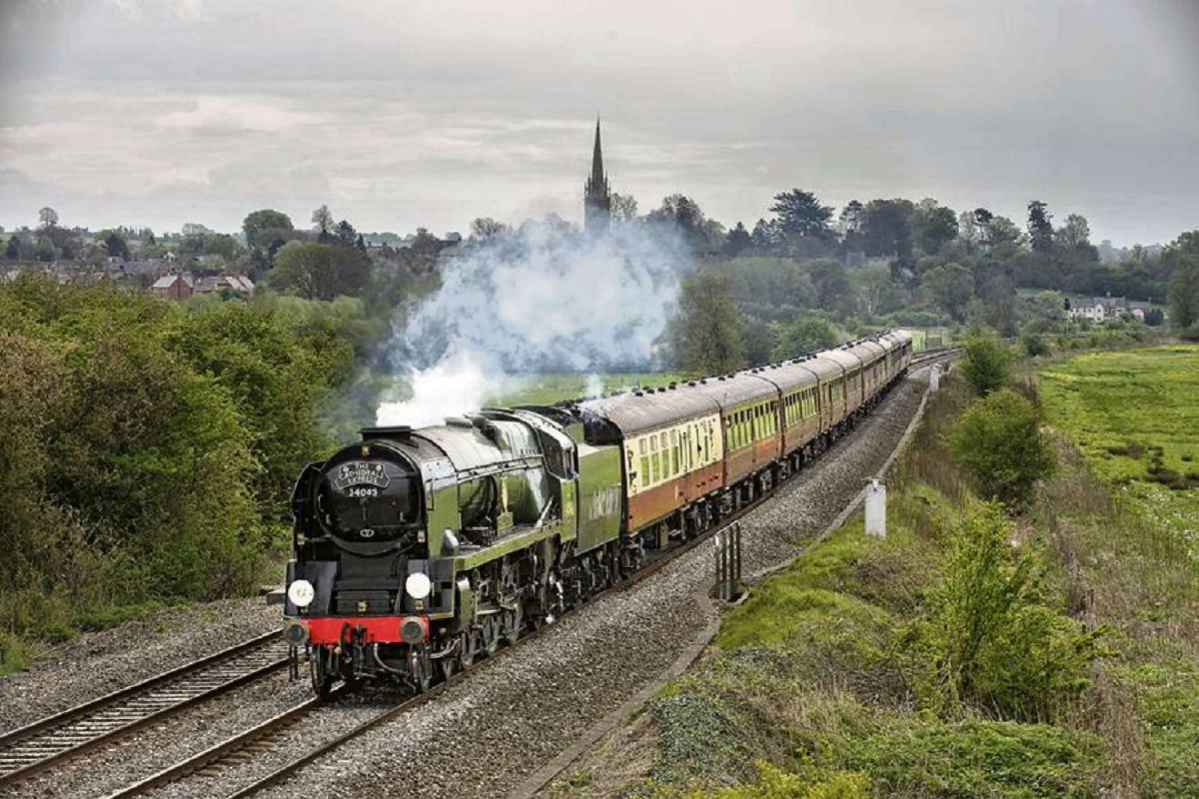 68-year-old steam engine to pass thorough Worcestershire on Saturday