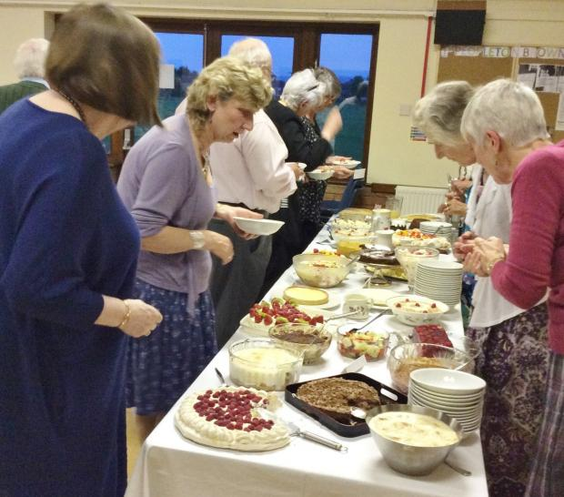 Pudding extravaganza raised £1,000 for St Richard's Hospice and Acorns Children's Hospice.