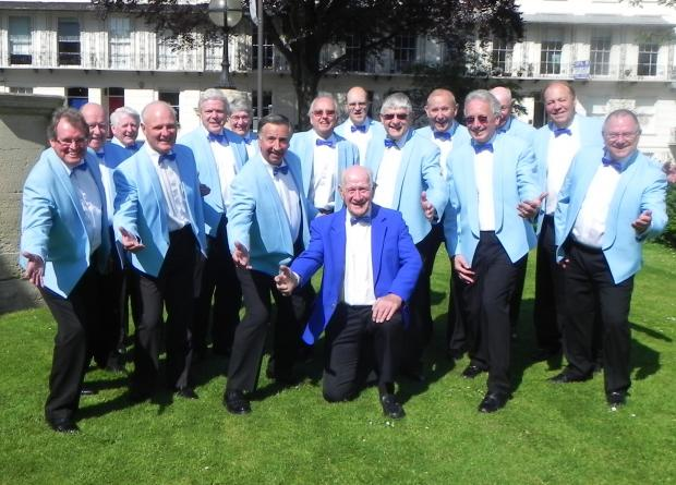 Vale Harmony pictured at the Cheltenham Festival of Performing Arts last Saturday