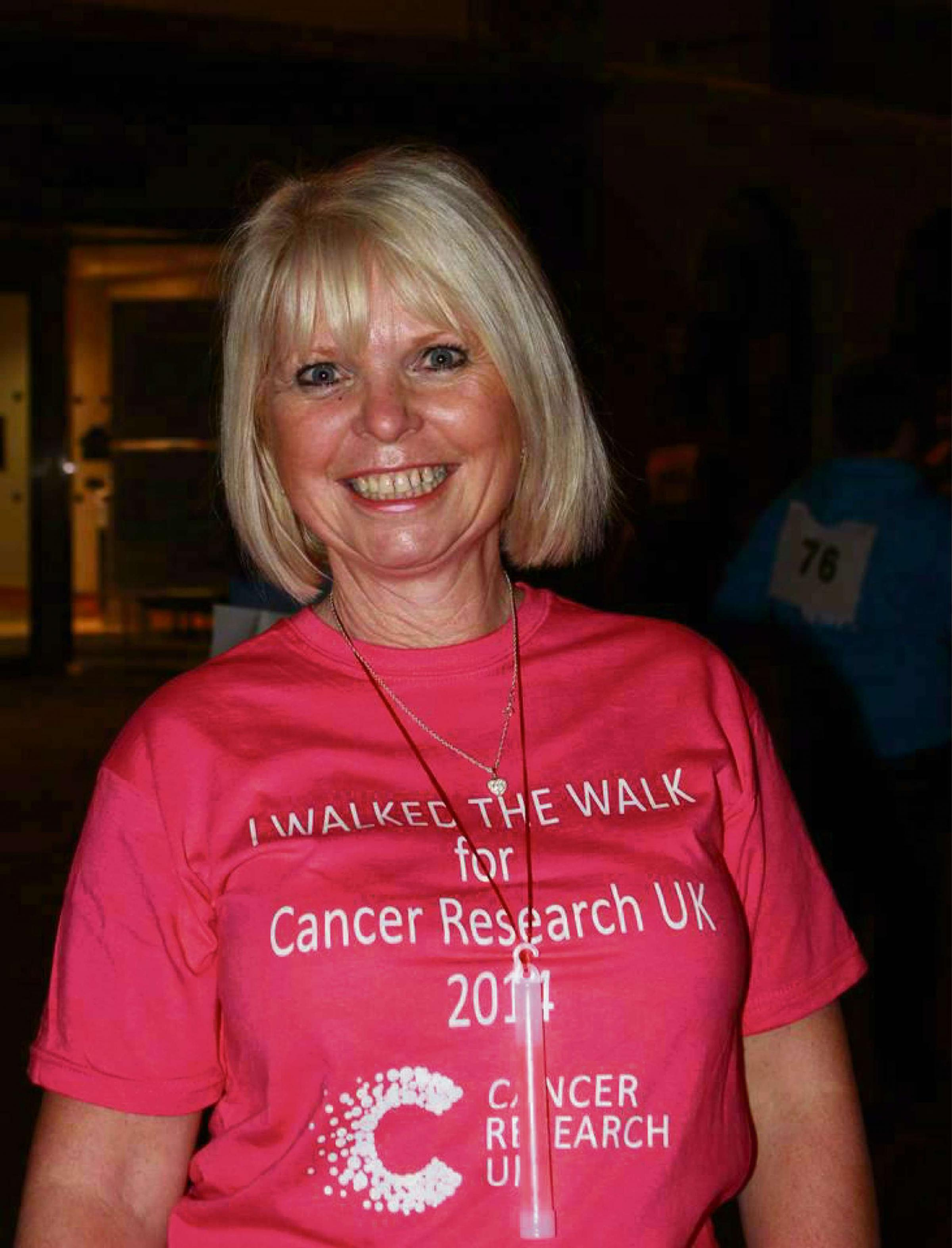 Hundreds raise thousands at town's first Twilight Walk