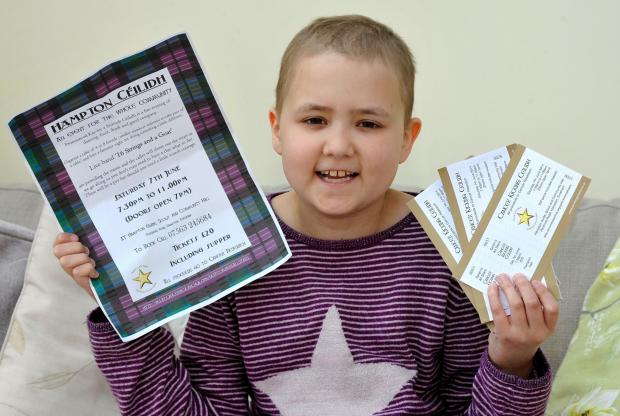 John Anyon      25/4/14     2114607001  Cancer sufferer, Seren Arthurs, 10, from Evesham is attempting to raise  £10,0000 for Cancer Research with a series of local fundraising events (6517094)