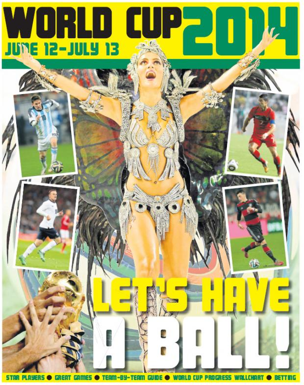 Evesham Journal: The Journal's 24 page World Cup Pull-Out available from June 5th - Don't miss it!