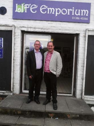 MILESTONE: Jerry Lawrence and Tony Fisher, directors of LIFE Emporium