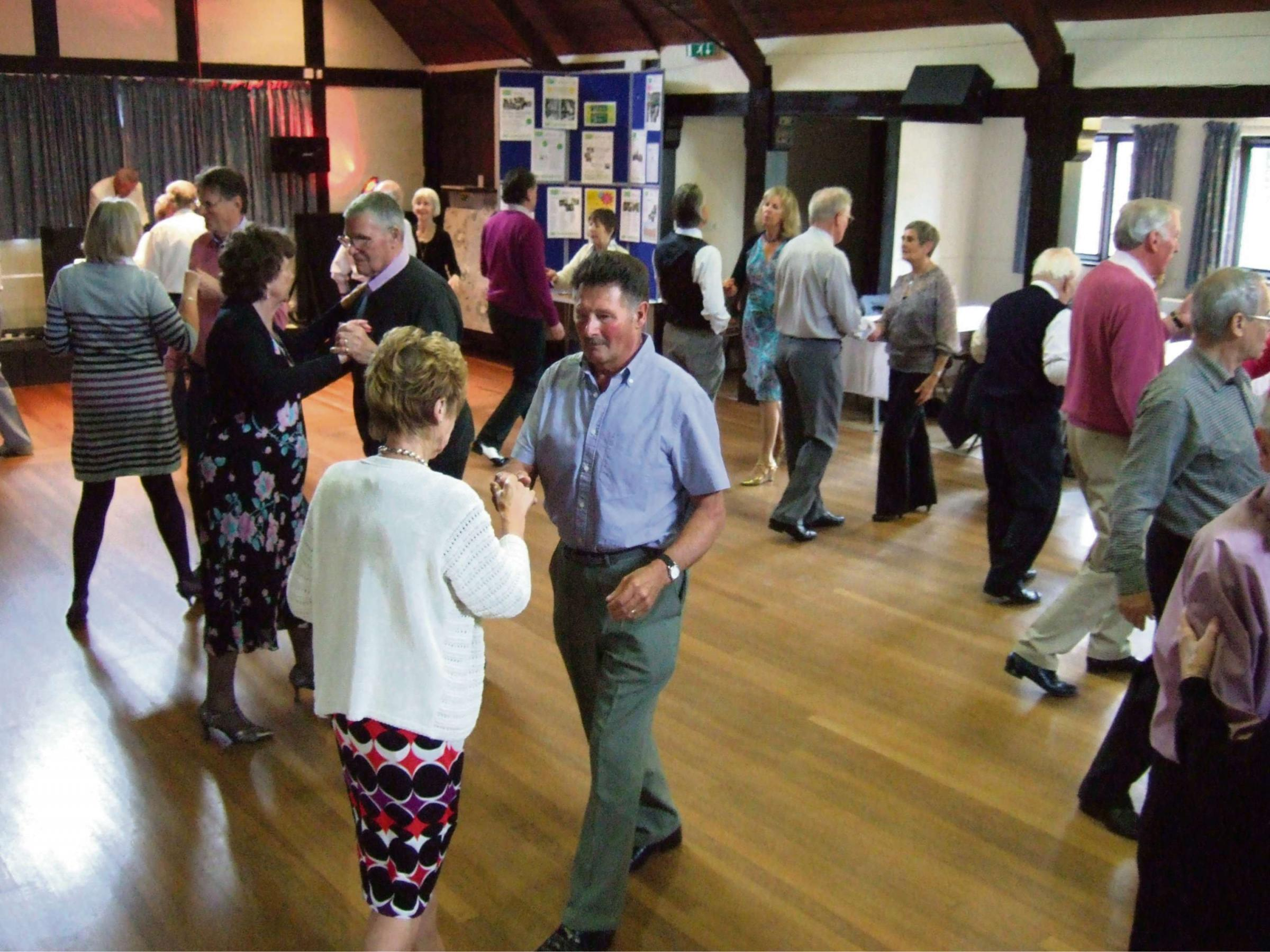More than 50 people turned out for a Sunday afternoon tea dance as part of the Archive Project.
