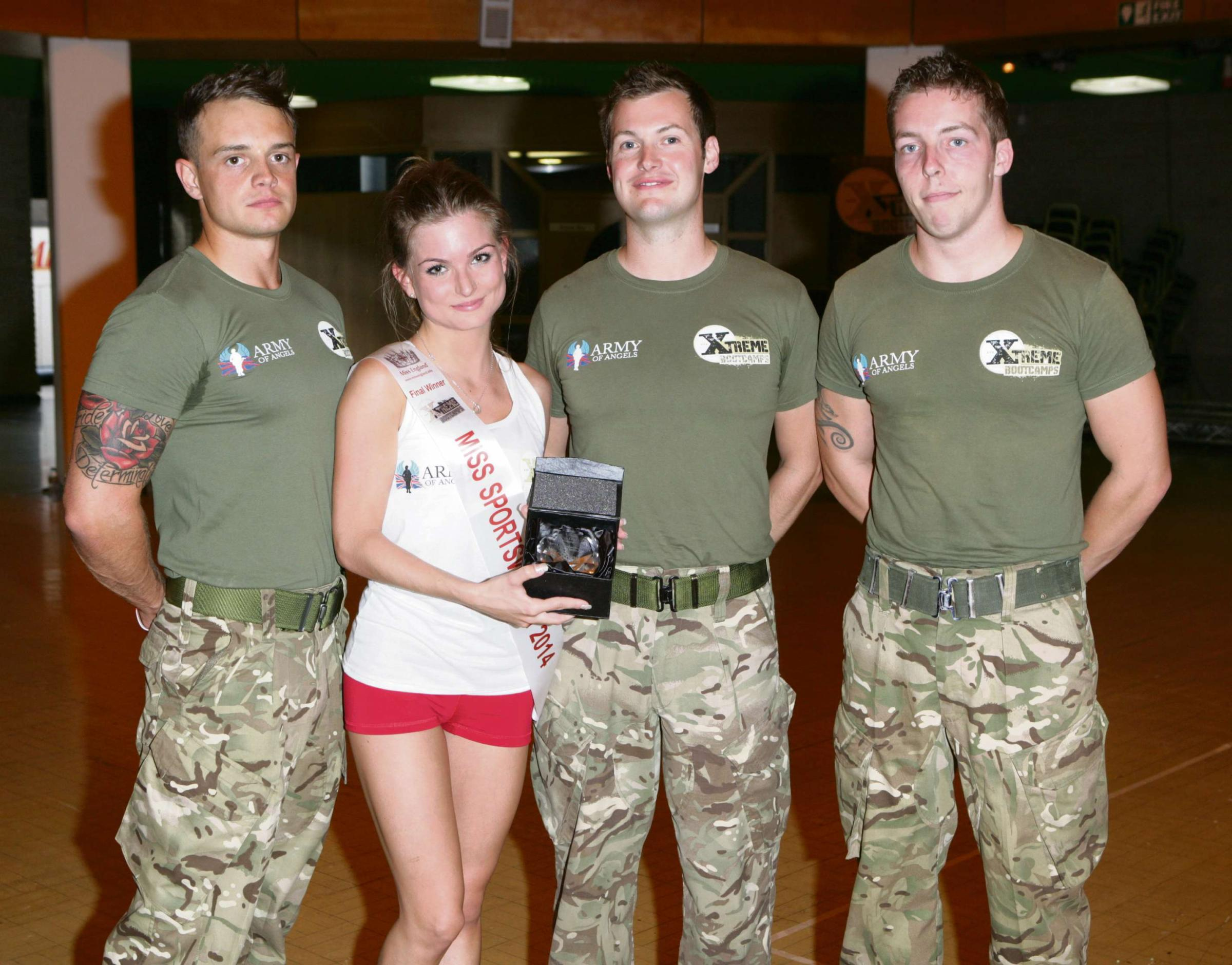 Worcestershire fitness club name Miss England sportswoman