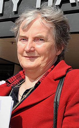 Councillor Liz Tucker voted against merger of chief executives.