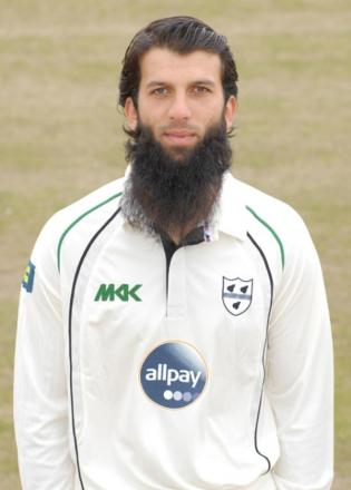 SPIN SHOW: Moeen Ali.