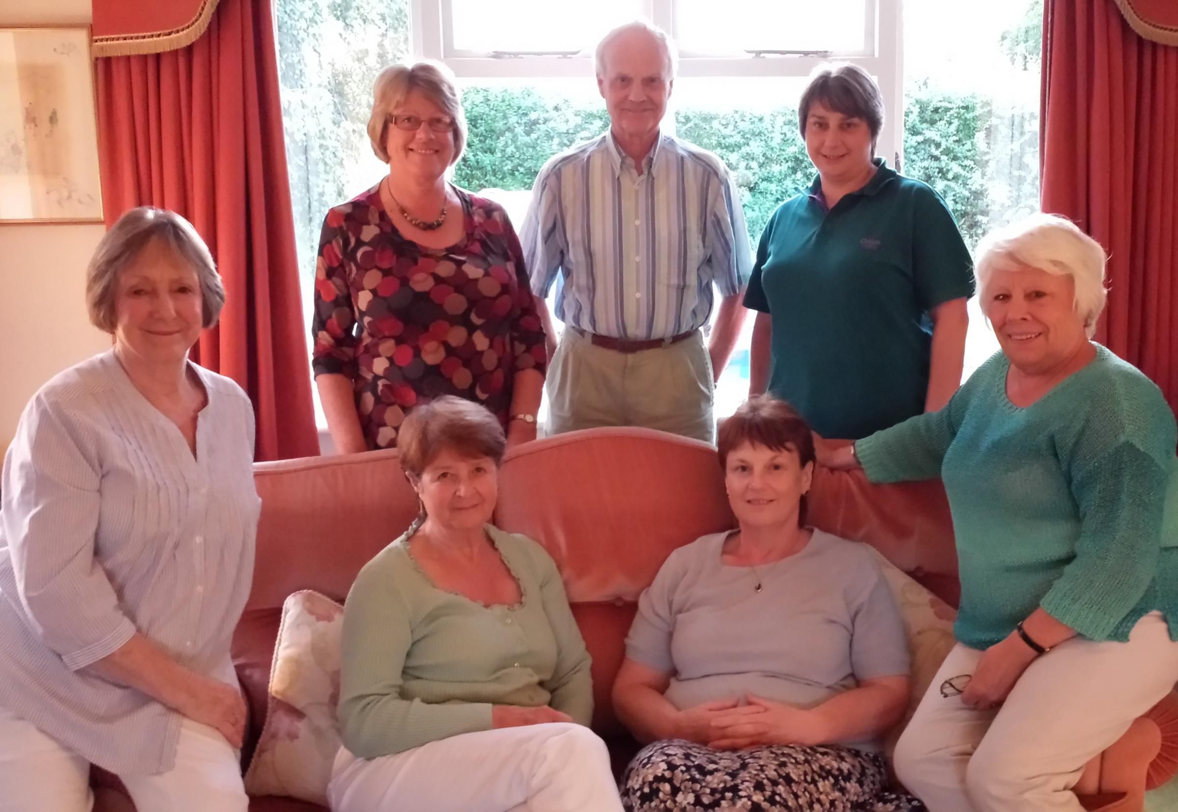 Macmillan Cancer Support's Vale of Evesham Fundraising Group.